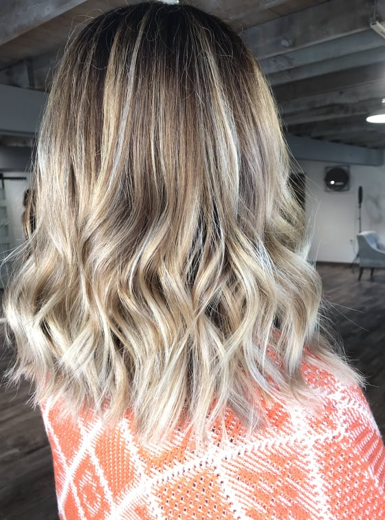 Foil-yage at Mill Pond Salon in New London, MN